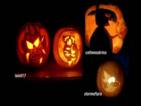 Carved Pumpkins 2010