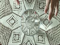 Glass on a Doily