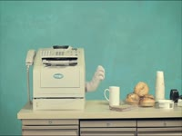Twisted Fax Machine 1: Coffee