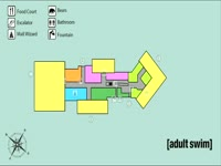 Adult Swim Mall Map