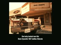 Black Dynamite Cadillac Winner