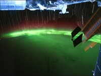 Meow Meow: Aurora from Orbit