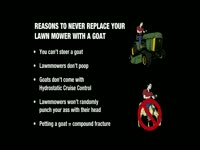 Replace Lawnmower With Goat Pt 2