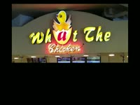 Best Named Restaurant: What the Chicken