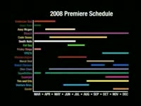2008 Premiere Calendar