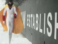Snowpocalypse Bump: Space Ghost