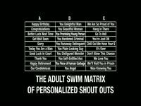 Personalized Shout Out Matrix