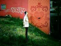 Tagged Pink Wall