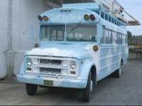 """""""Just Believe"""" bus"""